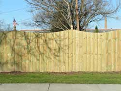 Scallop Privacy Fencing
