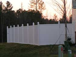 6 Foot Vinyl Privacy Fence